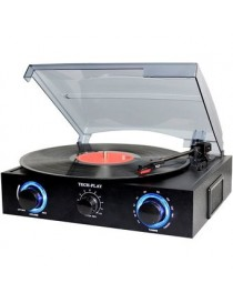 TechPlay TCP2 BK, 3 Speed (33, 45, 78 RPM)turntable with pitch control