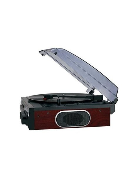 Jensen JTA-230SE 3-Speed Stereo Turntable with Built-in Speakers - Envío Gratuito