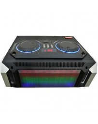 Mini Componente Bluetooth Amplificador Luces Usb Sd Aux 2200 Watts