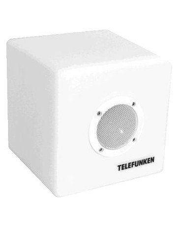 TELEFUNKEN Bocina LED REcargable Portatil Waterproof - Envío Gratuito