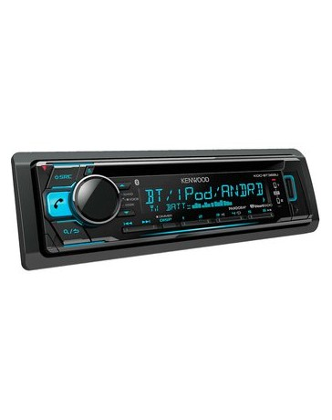 Autoestereo Kenwood 368u Doble Blueooth Control Android - Envío Gratuito
