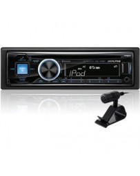 Estereo Alpine Cde-143bt Bluetooth Desmontable Usb Aux
