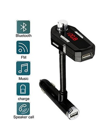 Bluetooth FM Transmitter, Enegg Car MP3 Audio Player Wireless - Envío Gratuito
